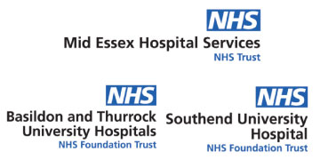 Mid Essex Hospital Services/Basildon & Thurrock/Southend University Hospitals logo