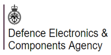Defence Electronics & Components Agency (DECA) logo