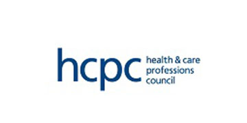 health & care professions council logo